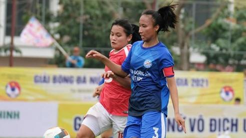Than Khoáng sản Việt Nam vô địch lượt đi Giải nữ U19 VĐQG 2021