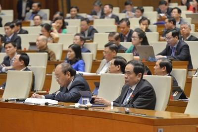 Thông cáo báo chí số 03 Kỳ họp thứ 11, Quốc hội khóa XIV