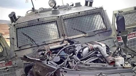 Thiết giáp Tiger Nga bị phiến quân tấn công ở Syria
