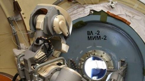 Nga chế tạo robot làm việc trong không gian vũ trụ
