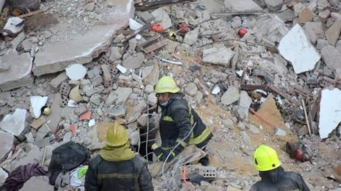 Sập tòa nhà chung cư 10 tầng ở Ai Cập, ít nhất 18 người thiệt mạng