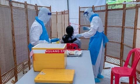 Campuchia trong một ngày ghi nhận 'kỷ lục' 179 ca nhiễm Covid-19 mới