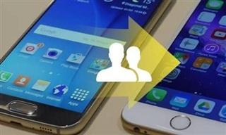 Hướng dẫn chuyển danh bạ từ Android sang iPhone
