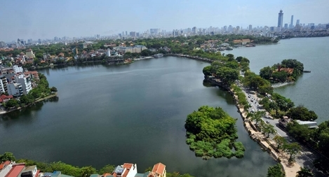 Nước hồ Tây có dấu hiệu ô nhiễm
