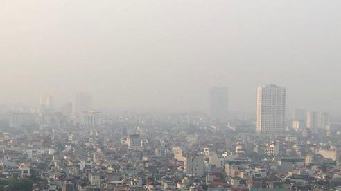 Có 9 điểm ô nhiễm không khí nặng ở Bắc Bộ