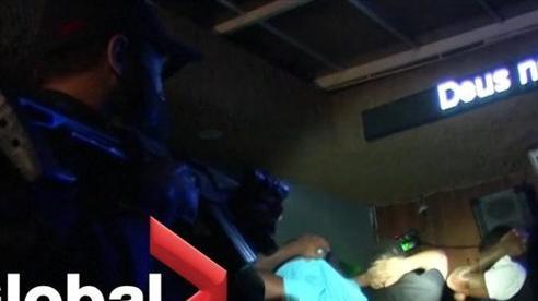 Đột kích tiệc bất hợp pháp trong dịch COVID-19 tại Brazil