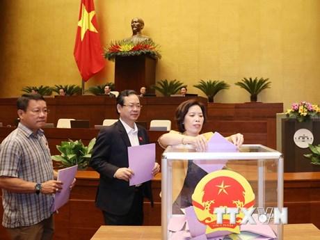 Kỳ họp thứ 11: Miễn nhiệm Phó Chủ tịch nước Đặng Thị Ngọc Thịnh