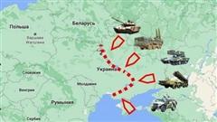 Ukraine lo ngại khi Nga mở rộng mặt trận lên 2.000 km