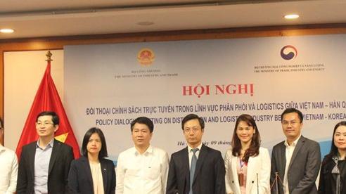 Việt Nam – Hàn Quốc: Đối thoại chính sách trực tuyến trong lĩnh vực phân phối, logistics