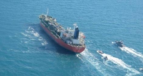 Iran thả tàu dầu Hàn Quốc