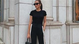 Hè này muốn mix quần đen không bị nhàm chán, nàng công sở hãy học Hà Tăng để thật sành điệu