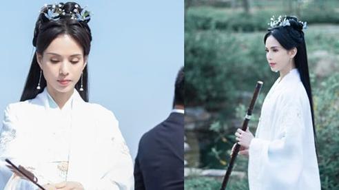 Bị chê gầy dơ xương, Lý Nhược Đồng ở tuổi 55 lẳng lặng diện lại trang phục trắng như Tiểu Long Nữ năm xưa, cho thấy thế nào mới là 'tiên khí'