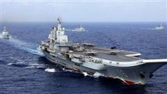 Biển Đông 'chật chội' tàu sân bay Mỹ - Trung