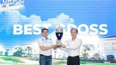 Golfer Nguyễn Tiến Sỹ lên ngôi vô địch