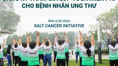Dự án 'Yoga đẩy lùi bệnh K' của Sáng kiến Ung thư Muối