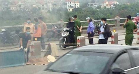 Thông tin lan truyền về cái chết của thanh niên trên cầu Thanh Trì là bịa đặt