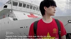 Nguyễn Trần Trung Quân mang tiếng hát tới thăm hỏi và động viên quân – dân ở huyện đảo Trường Sa và nhà giàn DK-1
