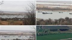 Mười chiến hạm Caspian đến Biển Đen khi tàu Mỹ xuất hiện