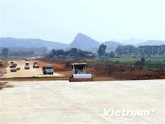 Nhiều gói thầu của dự án cao tốc Bắc-Nam đang bị chậm tiến độ