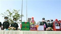 Bộ Chỉ huy BĐBP Tây Ninh chúc Tết cổ truyền Chol Chnam Thmay lực lượng vũ trang Campuchia