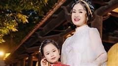 Á hậu nhí 9 tuổi tự tin trình diễn với Hoa hậu Ngọc Hân, NSND Thu Hà