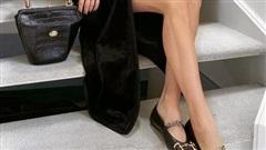Muốn đôi chân đến sở làm thoải mải mà vẫn hợp mốt, nàng công sở tham khảo ngay 3 mẫu giày bệt dưới đây