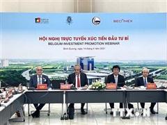 Xúc tiến đầu tư của các doanh nghiệp Bỉ vào tỉnh Bình Dương
