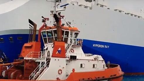Tàu chở hàng Israel dính tên lửa giữa bối cảnh căng thẳng với Iran