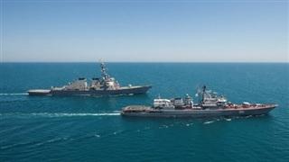 Vì sao tàu Mỹ vào Biển Đen là 'món quà' cho Nga?