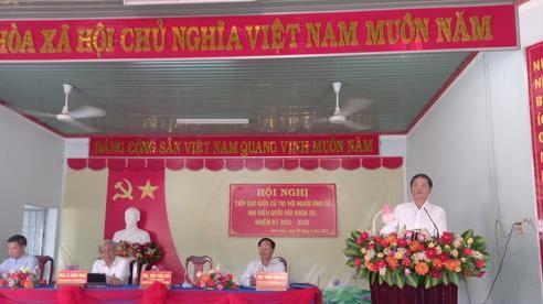 Trưởng Ban Kinh tế Trung ương tiếp xúc cử tri tỉnh Khánh Hòa