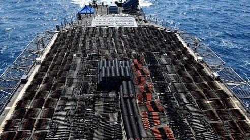 Hải quân Mỹ thu giữ hàng nghìn vũ khí có nguồn gốc Trung Quốc ở Biển Ả Rập