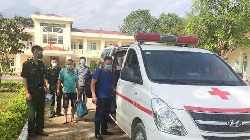 Thanh Hóa: Hai người đàn ông vượt biên trái phép để trốn cách ly
