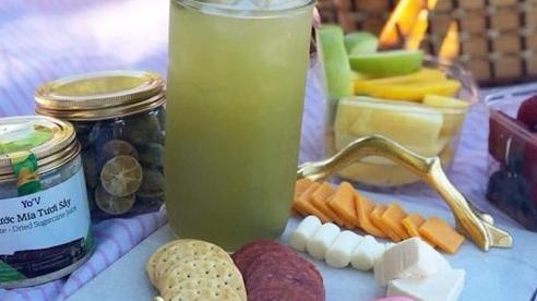 Nước mía sấy khô của Vinamit được cấp bằng sáng chế tại Mỹ