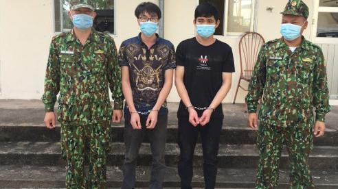 Bắt giữ 2 người Trung Quốc nhập cảnh trái phép ở Quảng Ninh