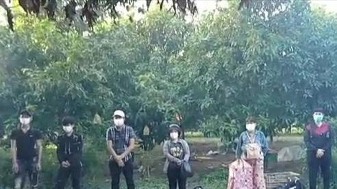 Xử phạt, đưa đi cách ly 8 trường hợp từ Campuchia nhập cảnh trái phép