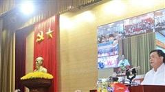 Đồng chí Nguyễn Xuân Thắng tiếp xúc cử tri đơn vị bầu cử số 1 tỉnh Quảng Ninh