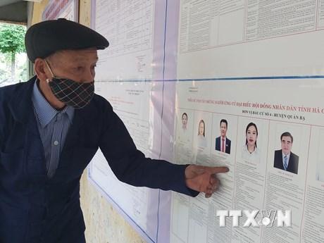 Cử tri Hà Giang gửi gắm nhiều niềm tin, kỳ vọng vào đại biểu Quốc hội