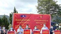 Điện Biên hỗ trợ sáu tỉnh Bắc Lào chống dịch Covid-19