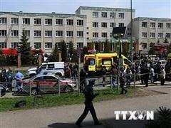 Xả súng tại trường học Nga: Nghi phạm thứ hai đã bị bắn hạ