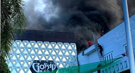 Cháy quán bar lớn nhất Cà Mau