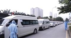 Bệnh viện K chuyển 500 bệnh nhân và người nhà đến nơi cách ly tập trung