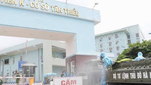 Sáng 11/5, Hà Nội phát hiện thêm 2 ca dương tính với SARS-CoV-2, một người ở chung cư Đại Thanh