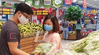 Vẫn có nhiều người tăng mua gạo, đường, dầu ăn, gia vị... vì lo dịch