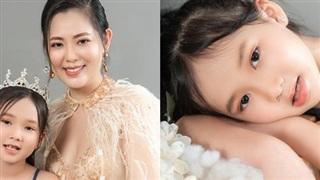 Con gái 7 tuổi của người đẹp phim 'Đại gia chân đất': Chững chạc, hiểu  và biết cảm thông cho mẹ