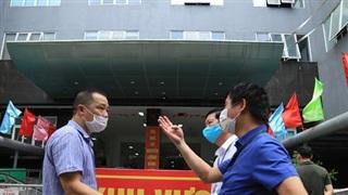 Hà Nội: Phong tỏa khu dân cư phố Lê Văn Lương và Nguyễn Lương Bằng