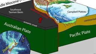 Trái Đất có 'lục địa thứ 8', đang nuốt đại dương