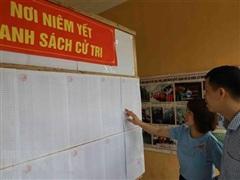 Tổ chức tiếp xúc cử tri vận động bầu cử phù hợp với phòng, chống dịch