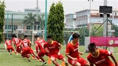 Các cầu thủ ĐT U22 Việt Nam vượt qua bài kiểm tra thể lực