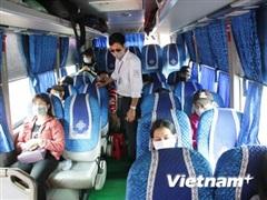 Còn nhiều hành khách, lái xe chưa thực hiện nghiêm phòng dịch COVID-19