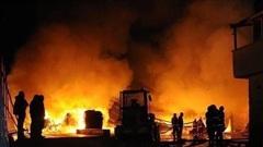Cháy nhà máy sản xuất thuốc trừ sâu tạiẤn Độ